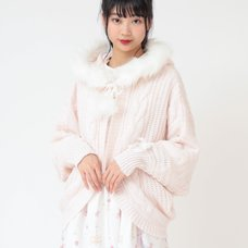 LIZ LISA Hooded Momonga Cardigan