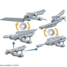 HGBC Gundam Build Divers Spinning Blaster