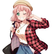 BanG Dream! Girls Band Party! x WEGO 3rd Collab Checkered Shirt
