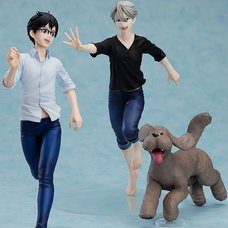 Yuri!!! on Ice Yuri Katsuki & Victor Nikiforov 1/8 Scale Figure Premium Box Set