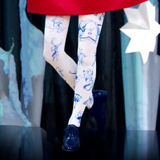Neb aaran do 100 Friends Tights Blue