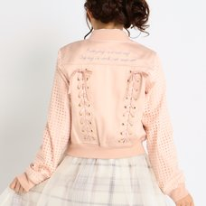 LIZ LISA Lace-Up Back Jacket