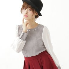 earth music&ecology Pearl Bijou Pullover