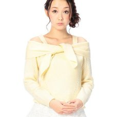 LIZ LISA Off-Shoulder Knitted Top