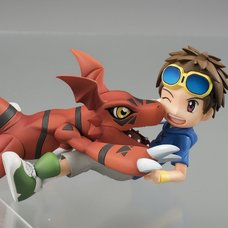 G.E.M. Series Digimon Tamers Takato Matsuda & Guilmon