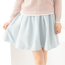 earth music&ecology Gathered Tuck Skirt