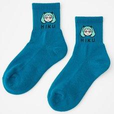 Miku Moji Jacquard Socks