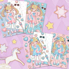 Sweet Lolita Clear File & Postcard Set