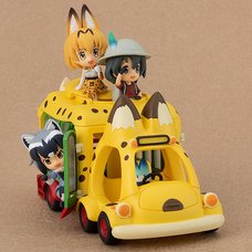 Kemono Friends Japari Bus Non-Scale Figure Set