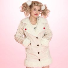 Swankiss Sailor Mouton Coat