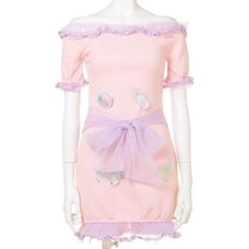 Swankiss Dream Baby Story Short Dress