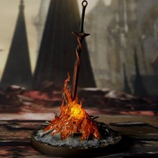 Dark Souls Ⅲ Bonfire 1/6 Scale Light-up Statue