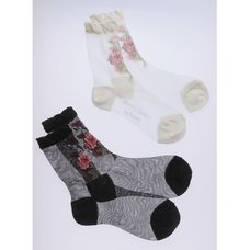 Honey Salon Bouquet Socks