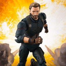 S.H.Figuarts Avengers: Infinity War Captain America w/ Tamashii Effect Explosion Set