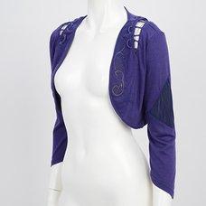 Rozen Kavalier Layered-Style Lace-Up Bolero
