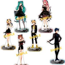 Vocaloid Minoru Asagao Cat Party Acrylic Stand