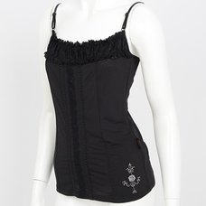 Ozz Oneste Embroidered Rose Camisole