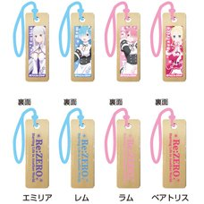 Re:Zero -Starting Life in Another World- Wooden Charm Strap Vol. 2