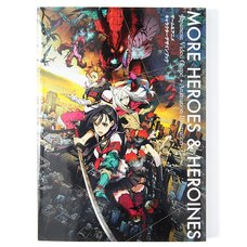More Heroes and Heroines Game & Anime Character Design Book
