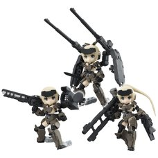 Desktop Army Frame Arms Girl Kt-321F Gourai Series (Re-run)
