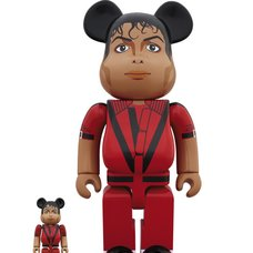 BE@RBRICK Michael Jackson Red Jacket 100% & 400% Set