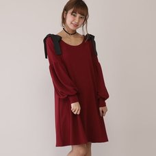 Honey Salon Voluminous Sleeve Dress