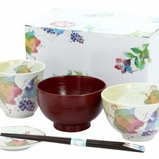 Hanatsumi Mino Ware Gift Set