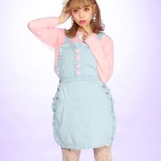 Swankiss Denim Apron Dress