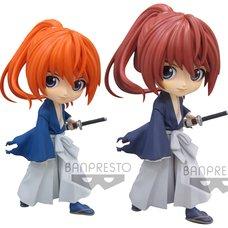 Q Posket Rurouni Kenshin: Meiji Swordsman Romantic Story Battousai Himura