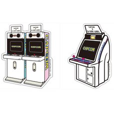 Capcom x B-Side Label Arcade Machine Stickers