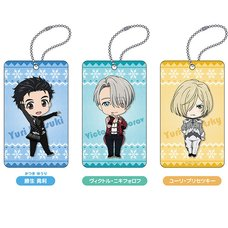 Nendoroid Plus: Yuri!!! on Ice Acrylic Pass Cases