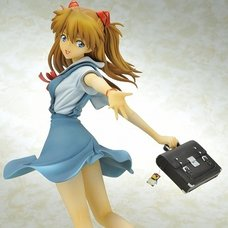 Asuka Shikinami Langley Uniform Ver. 1/6th Scale Figure | Rebiuld of Evangelion