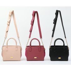 Honey Salon Shoulder Ribbon Bag