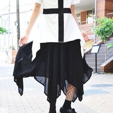 ACDC RAG Sheer Skirt