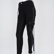 Ozz Croce Side Line Skinny Pants