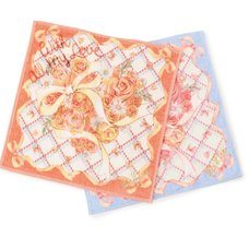 LIZ LISA Rose Heart Handkerchief