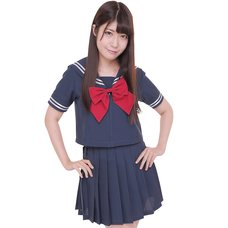 Color Sailor: Navy Sailor Suit Cosplay Outfit