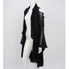 Ozz Oneste Kimono Sleeve Mesh Cardigan