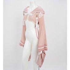 Ozz Oneste Kimono Sleeve Hooded Bolero