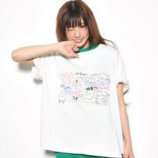 Love Live! Sunshine!! White Board White T-Shirt