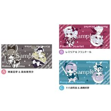 Touhou Project Touhou Naminoamamiya Face Towel: Look Back Girls