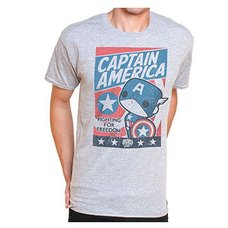 POP! Tees: Captain America Fight for Justice T-Shirt