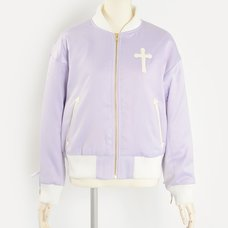 E Hyphen World Gallery BonBon Lace-Up Cross Blouson