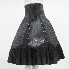 Ozz Oneste Rose Stripe Skirt