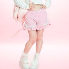 Swankiss Heart Puff Shorts