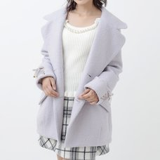 LIZ LISA Lace-Up Cocoon Coat
