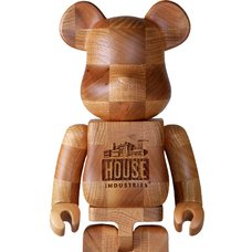 BE@RBRICK Karimoku House Industries Chess 400%