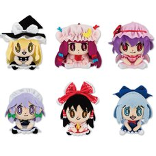 Touhou Project Chimarinzu Mascot Plush Collection