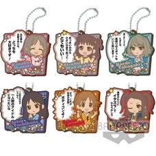 Idolm@ster Cinderella Girls Rubber Keychains