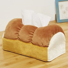 Fans Bread-Shaped Tissue Cover Box